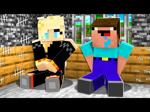 I Survived 100 Days in Minecraft Prison with Noob1234! *max security* - BriannaPlayz