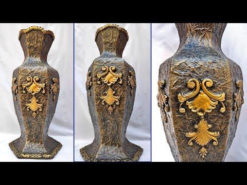 Удивительная ваза своими руками. Как сделать вазу