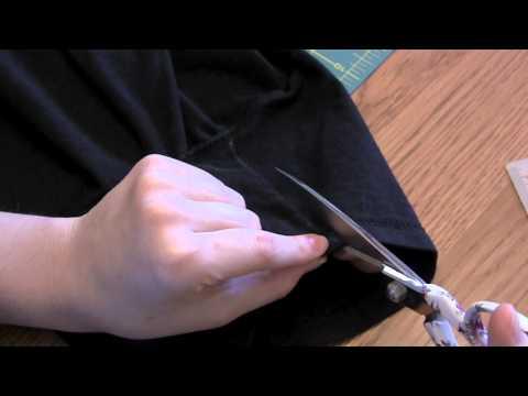 DIY: Resize oversized sleeves.
