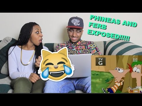Couple Reacts : PHINEAS & FERB: EXPOSED By Berleezy Reaction!!!