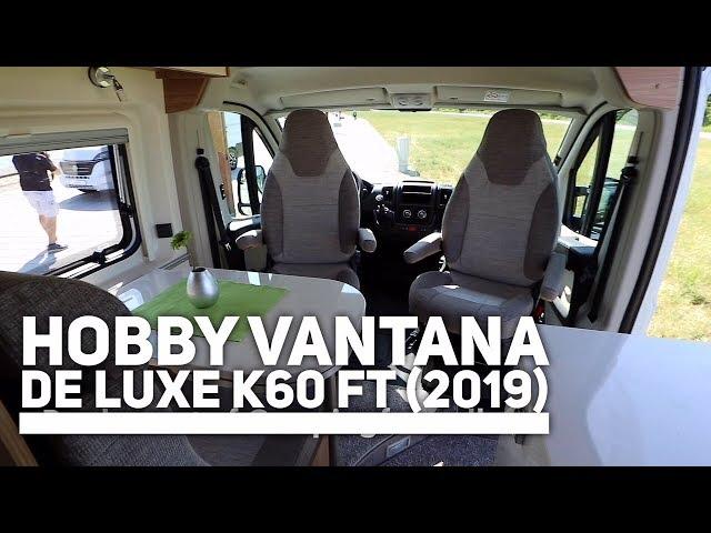 Hobby Vantana De Luxe K60 FT (2019)