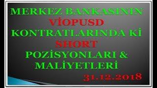 Merkez Bankasi  #dolar/tl De 31.12.2018  GÜnÜ Ne Yapti...?...?