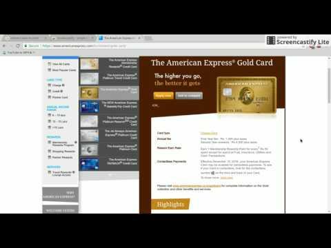 AMEX GOLD CARD Telugu