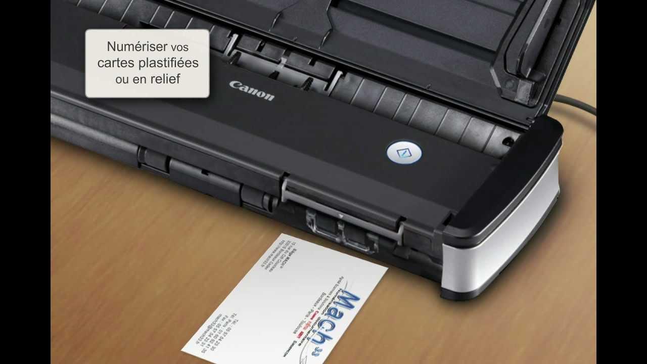 Nouveau scanner portable Canon p-215 II