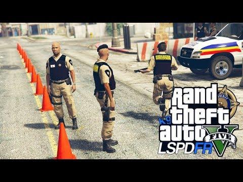 GTA V : MOD POLICIA : SUPER BLITZ POLICIAL AGITADA COM A PMMG : EP. 173