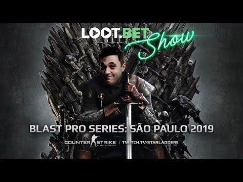 Трон — мой! | BLAST: São Paulo 2019 | LOOT.BET SHOW CS:GO