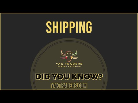 Did you know about Yak Traders Shipping?