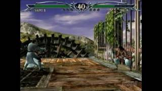 Soulcalibur III PlayStation 2 Gameplay - Skip and Dance