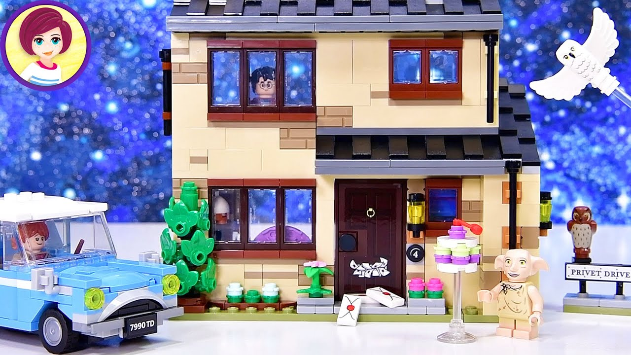 4 Privet Drive - Lego Harry Potter Build & Review