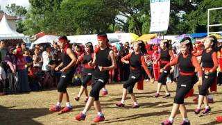 HEBOH.. GOYANGAN JUARA 1 LOMBA SENAM MAUMERE BATARA EXPO 2016 OLEH SANGGAR BKT DI MUARA TEWEH