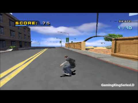 Tony Hawk´s Pro Skater 4 Ps1 Game Play 1【HD】