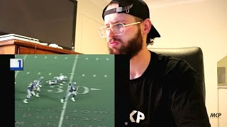 Rugby Player Reacts to BARRY SANDERS Top 50 Most Ridiculous Plays Of All Time!