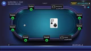 Pemain poker pro... Cepet kaya cepet miskin bos ku