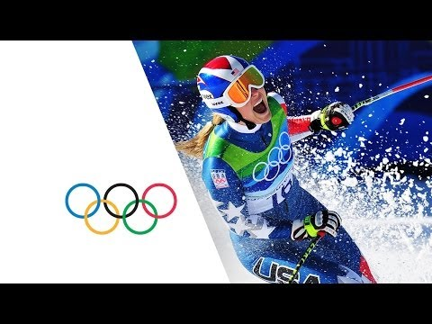 Lindsey Vonn Comes Back From Injury To Win Gold | Vancouver 2010 Winter Olympics