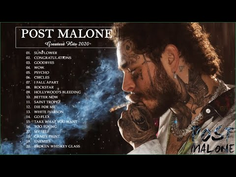Post Malone best songs of 2020 – Circles, Wow, Saint-Tropez, Swae Lee-Sunflower, Goodbyes