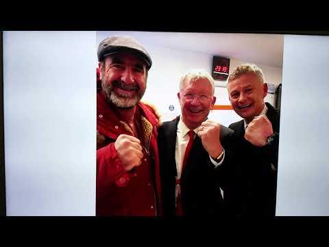PSG v Man Utd Highlights (1-3) and Jesse Lingard's reaction, + Eric Cantona, Sir Alex and Ole!!