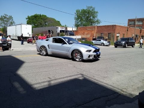 Mustang cast in Need for Speed movie - 2015 Ford Mustang