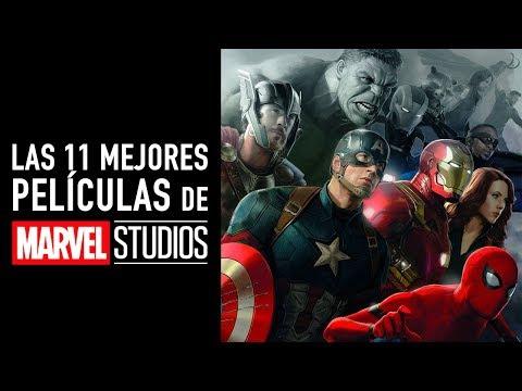 Las 11 mejores películas de Marvel Studios