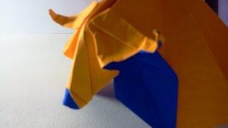 Origami Cow (origami)