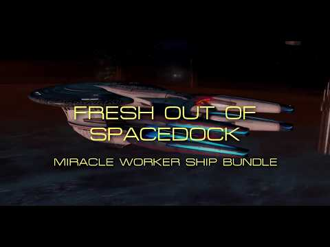 Fresh out of Spacedock - Miracle Worker Ship Bundle