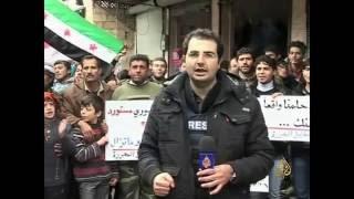 تقرير يحوي أول مرة يظهر فيها المصور خالد العيسى على قناة تلفزيونية عام 2013
