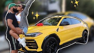 SURPRISING MY BOYFRIEND WITH HIS DREAM CAR (INSANE SURPRISE)