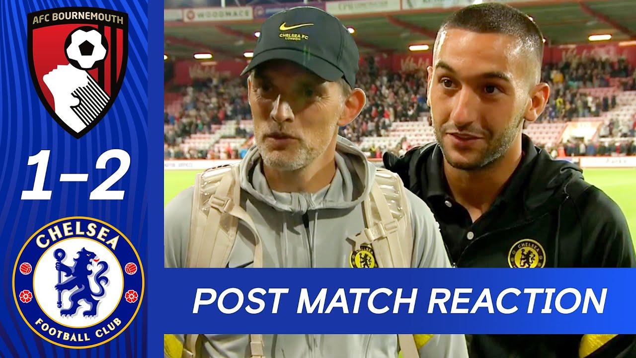 Thomas Tuchel & Hakim Ziyech React To Pre-Season Win | Bournemouth 1-2 Chelsea