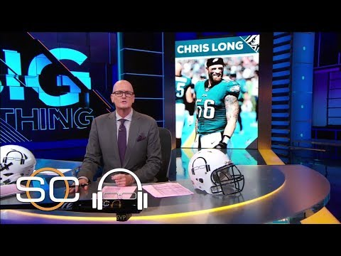 SVP inspired by Chris Long's giving nature   1 Big Thing   SC with SVP   ESPN