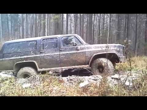 Chevrolet Suburban In The Mud
