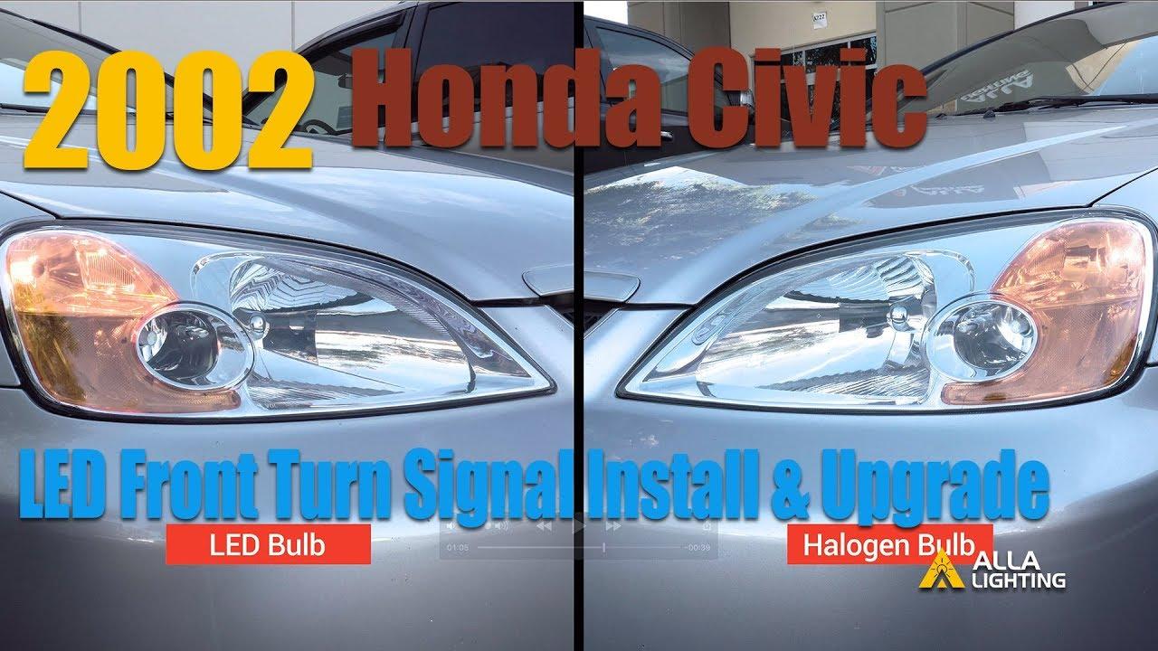 Honda Civic 2002 Headlight Bulb Type