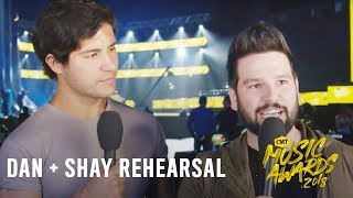 "2018 CMT Music Awards | Dan + Shay Rehearsal | ""Tequila"""