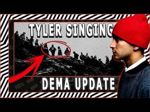Tyler SINGING in *NEW* DEMA UPDATE!  | 2018 TWENTY ØNE PILØTS Album