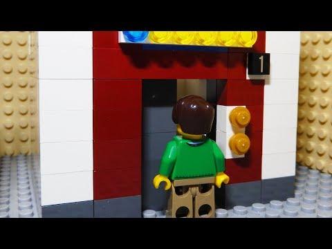 【LEGO】ELEVATOR  | レゴアニメ 「エレベーター 3」