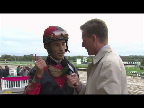 Post Race Interview - Jockey Club Gold Cup with John Velazquez