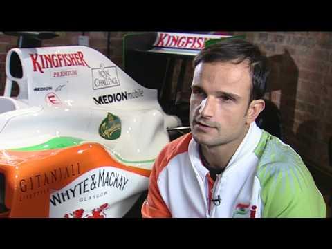 Force India VJM03 launch - Vitantonio Liuzzi