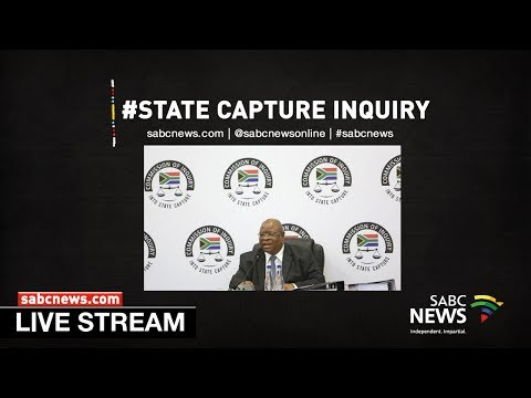 State Capture Inquiry, 10 May 2019