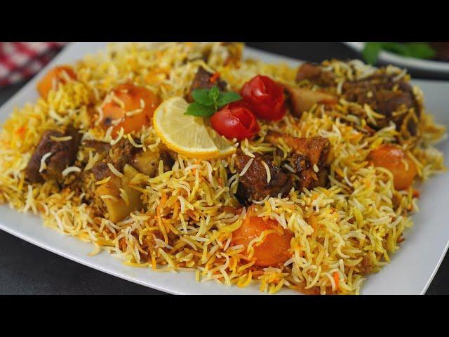 রাইসকুকারে বিয়েবাড়ির স্বাদে 'কাচ্চি বিরিয়ানি' | Bangladeshi biye barir mutton Kacchi Biryani Recipe