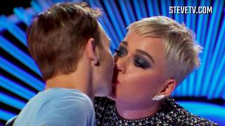 Steve Harvey Breaks Down Katy Perry's Controversial 'American Idol' Kiss