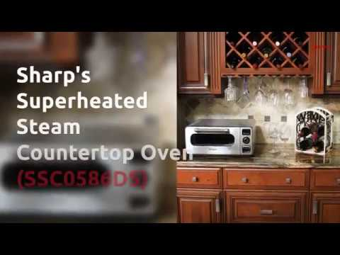 Sharp's Countertop Oven with Superheated Steam