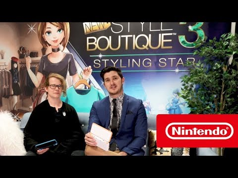 New Style Boutique 3 - Battle of the Boutiques (Nintendo 3DS)