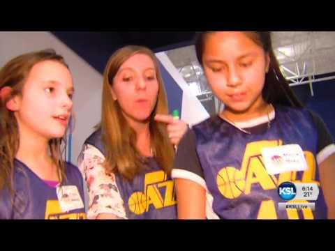 Utah Jazz helps some Utah students score a win in Math