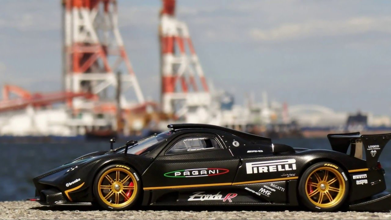 Pagani Zonda R Nurburgring Lap Time Record Edition Autoart 1 18 You