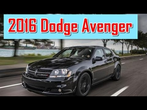 2016 Dodge Avenger Redesign Interior And Exterior