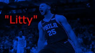 "Ben Simmons ROTY Mix 2018 - ""Litty"" ᴴᴰ"