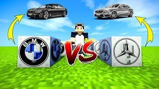 BMW VS MERCEDES ŞANS BLOKLARI - Minecraft