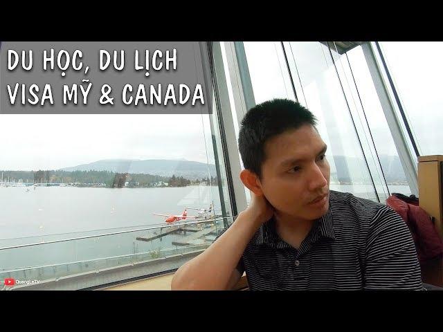 Ngắm View đẹp ở Vancouver tám về Du học, Du lịch, Visa Mỹ và Canada | Quang Lê TV #185