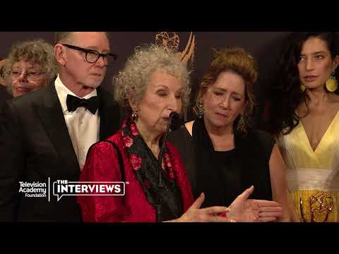 "Author Margaret Atwood on the Hulu series ""The Handmaid's Tale"" — 2017 Primetime Emmys"