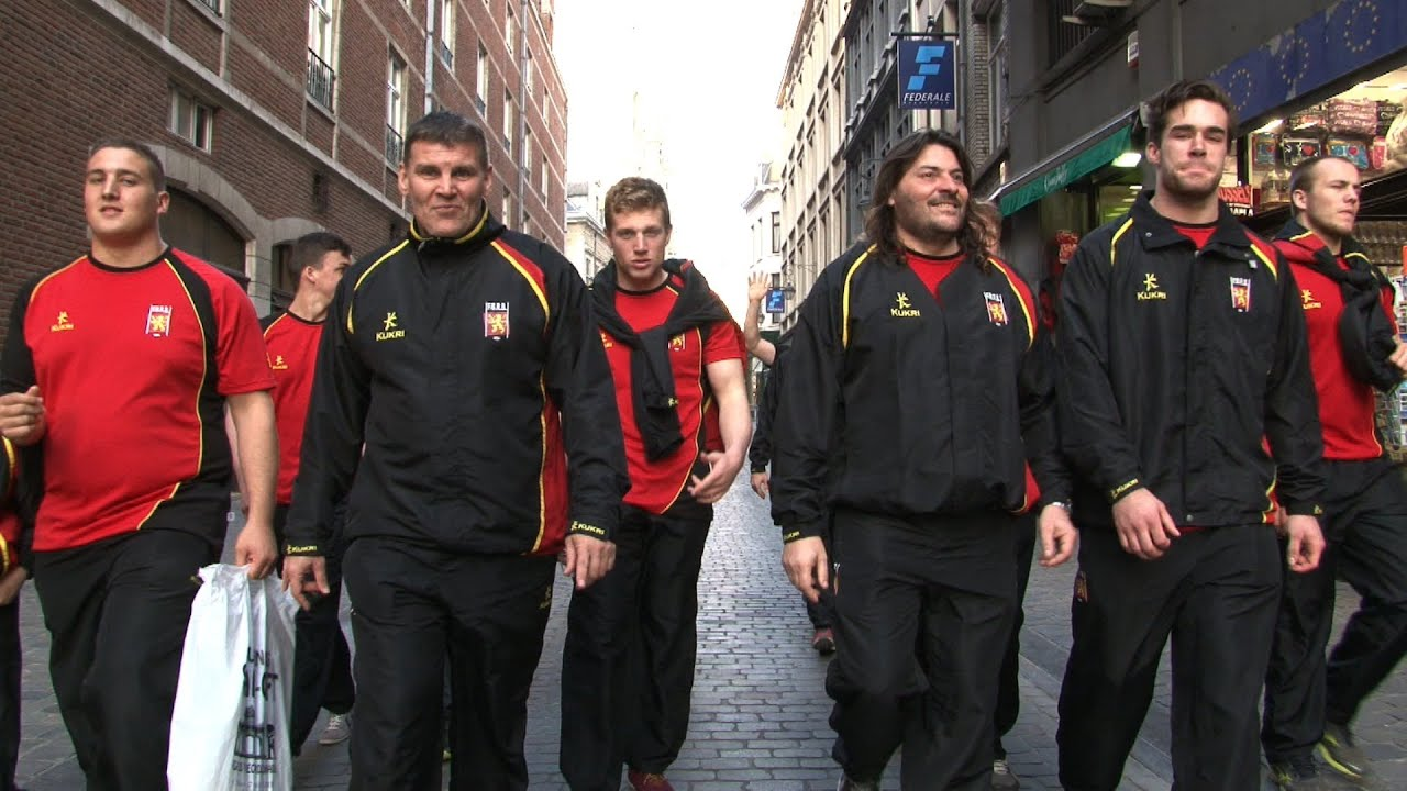 Belgium national rugby union team #
