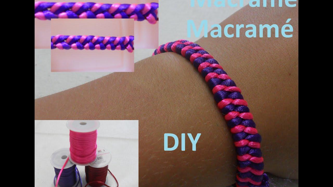 Tipos de hilos para pulseras como hacer pulseras con for Tipos de pulseras