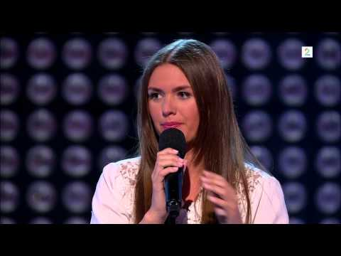 The Voice Norge 2013 - Oda K. Larsen - Falling Slowly (HD)